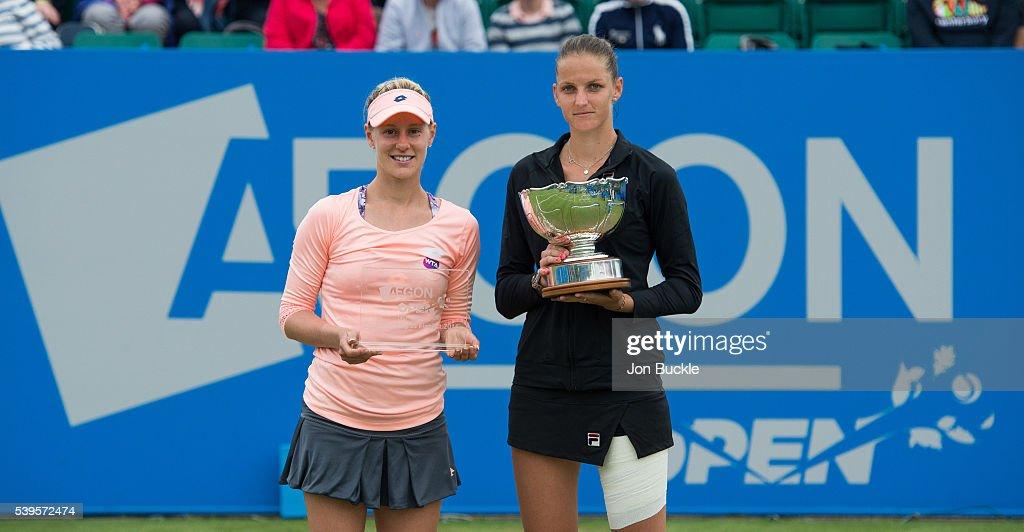 WTA Aegon Open Nottingham - Day 7 : News Photo