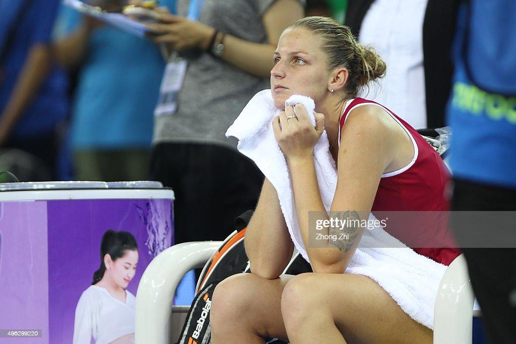 WTA Elite Trophy 2015 - Day 7 : News Photo
