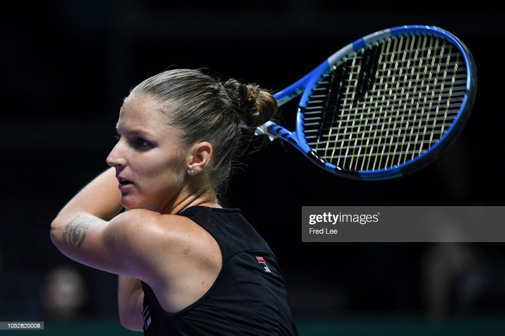BNP Paribas WTA Finals Singapore presented by SC Global - Day 3 : Photo d'actualité