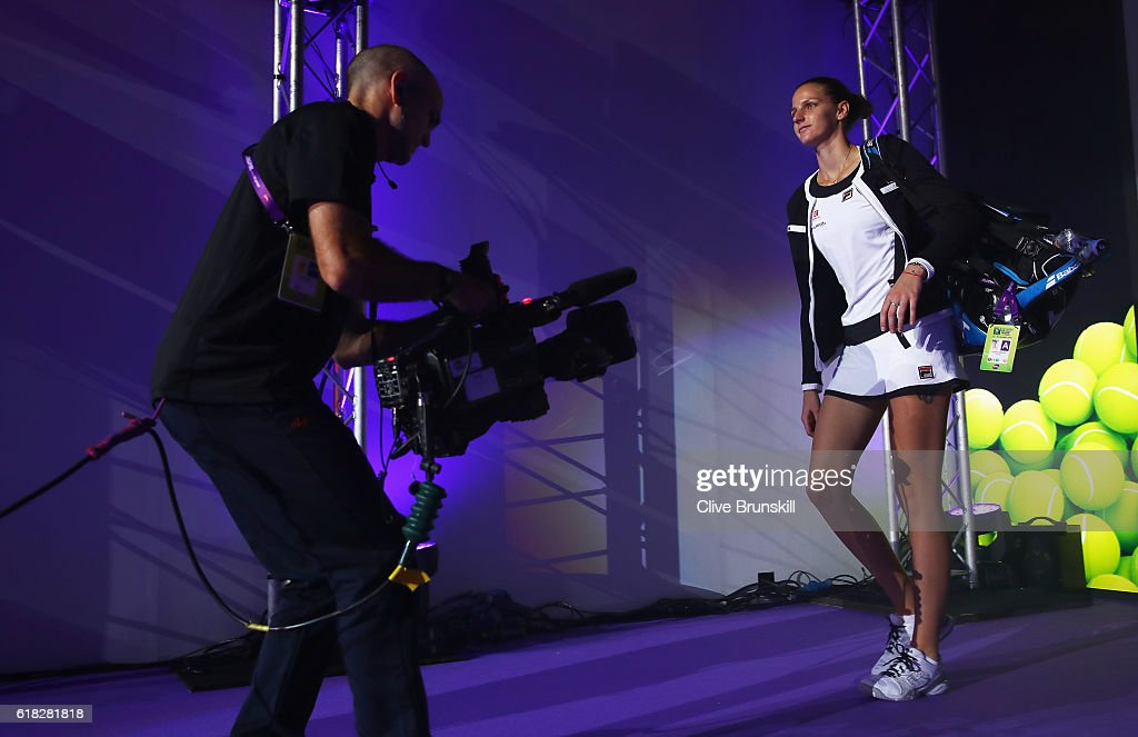 BNP Paribas WTA Finals: Singapore 2016 - Day Four : Nachrichtenfoto