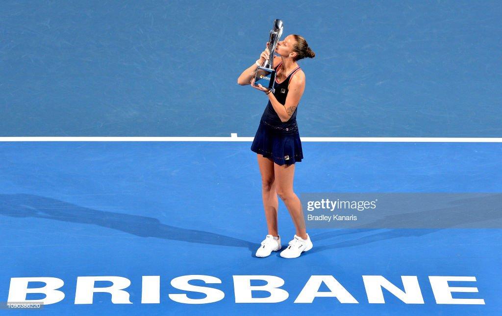 2019 Brisbane International - Day 8 : ニュース写真