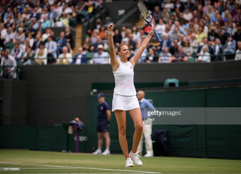 Day Eight: The Championships - Wimbledon 2021 : News Photo