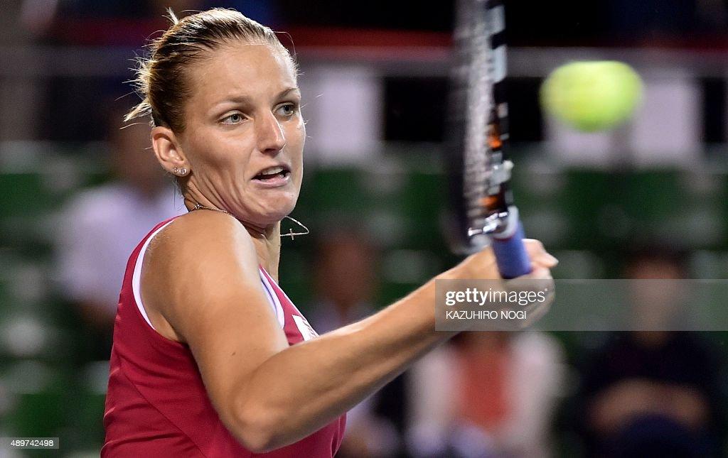 TENNIS-WTA-JPN : News Photo