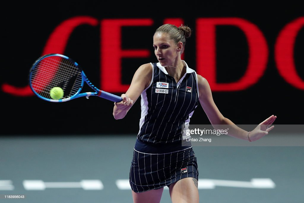 2019 WTA Finals - Day Two : News Photo