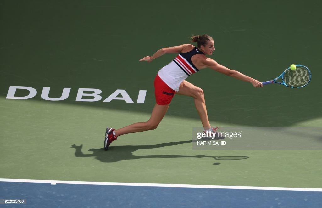 TENNIS-WTA-DUBAI : News Photo