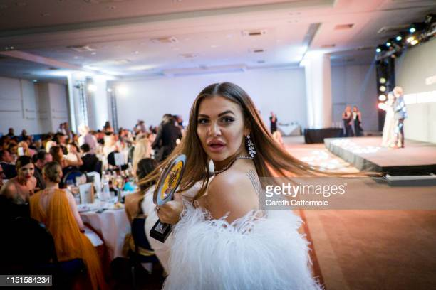 Karolina ZubovkaMattes attends the Inaugural 'World Bloggers Awards' during the 72nd annual Cannes Film Festival on May 24 2019 in Cannes France The...