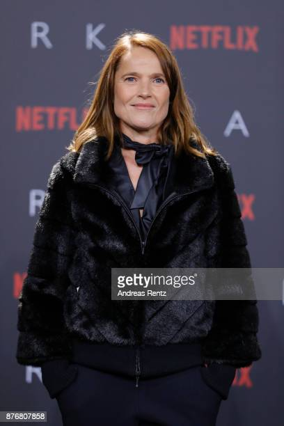 Karoline Eichhorn attends the premiere of the first German Netflix series 'Dark' at Zoo Palast on November 20 2017 in Berlin Germany