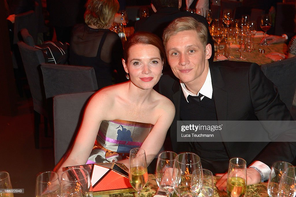 Karoline Herfurth and Matthias Schweighoefer attend the Bambi Awards 2013 After Show Party at Stage Theater on November 14, 2013 in Berlin, Germany.