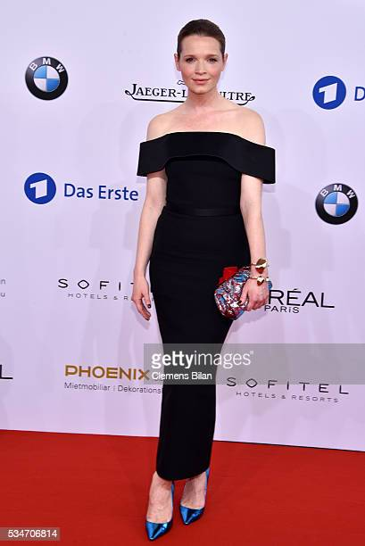Karoline Herfurth attends the Lola German Film Award on May 27 2016 in Berlin Germany