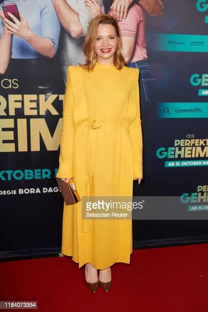 Karoline Herfurth attends the premiere of Das perfekte Geheimnis on October 28 2019 in Berlin Germany