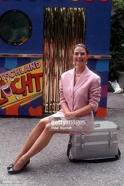 Karoline Reinhardt PK zur ZDFShow Deutschland lacht am in Deutschland