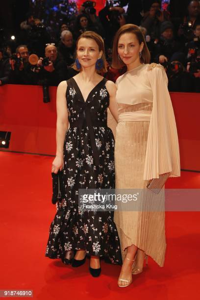 Karoline Schuch and Karoline Schuch attend the Opening Ceremony 'Isle of Dogs' premiere during the 68th Berlinale International Film Festival Berlin...