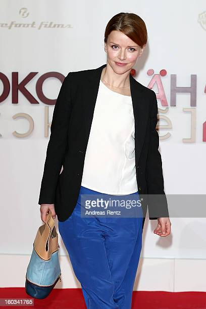 Karoline Schuch attends 'Kokowaeaeh 2' Germany Premiere at Cinestar Potsdamer Platz on January 29 2013 in Berlin Germany