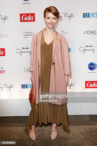 Karoline Schuch attends the 'Berlin Opening Night Of Gala Ufa Fiction on February 05 2015 in Berlin Germany