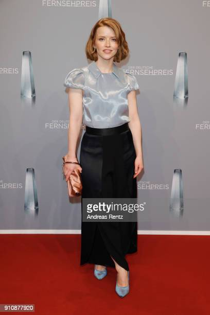 Karoline Schuch attends the German Television Award at Palladium on January 26 2018 in Cologne Germany