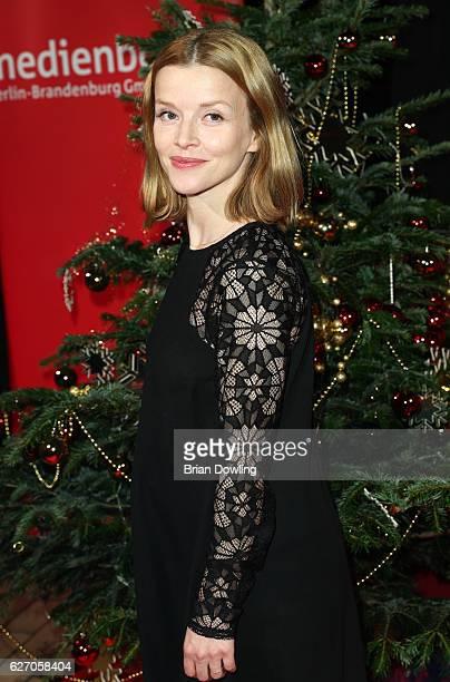 Karoline Schuch attends the Medienboard PreChristmas Party at Schwuz on December 1 2016 in Berlin Germany