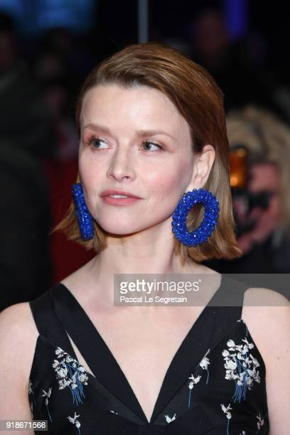 Karoline Schuch attends the Opening Ceremony 'Isle of Dogs' premiere during the 68th Berlinale International Film Festival Berlin at Berlinale Palace...