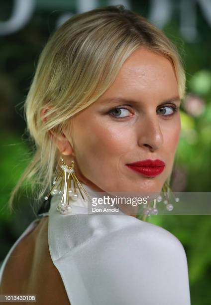 Karolína Kurková attends the David Jones Spring Summer 18 Collections Launch at Fox Studios on August 8 2018 in Sydney Australia