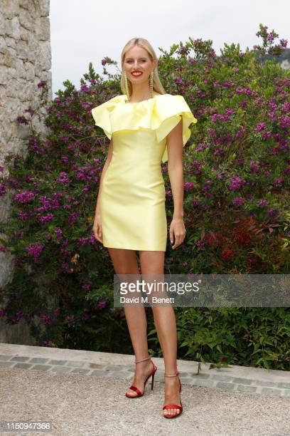 Karolína Kurková attends the Wellbeing Summer Lunch featuring a preview of the new Spring/Summer collection from LeGer by Lena Gercke x About You...