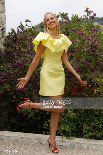 Karolína Kurkova attends the Wellbeing Summer Lunch featuring a preview of the new Spring/Summer collection from LeGer by Lena Gercke x About You...