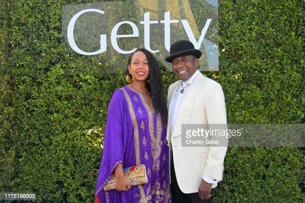 Karon Davis and Ben Vereen attend The J Paul Getty Medal Dinner 2019 at The Getty Center on September 16 2019 in Los Angeles California