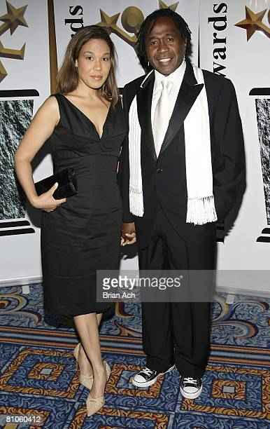 Karon Vereen and actor Ben Vereen arrives at the 2008 Michael Awards on May 7 2008 at the Marriot Marquis Ballroom in New York City