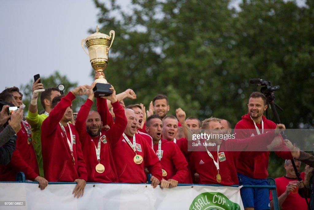 Northern Cyprus Vs Karpatalya 2018 Conifa World Cup Finals : News Photo