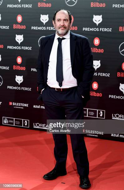 KArra Elejalde attends during Feroz awards red carpet on January 19 2019 in Bilbao Spain