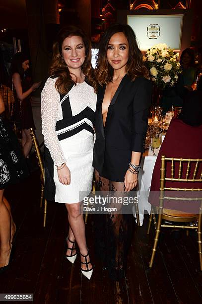Karren Brady and Mylene Klass attend the Cosmopolitan Ultimate Women Of The Year Awards at One Mayfair on December 2 2015 in London England