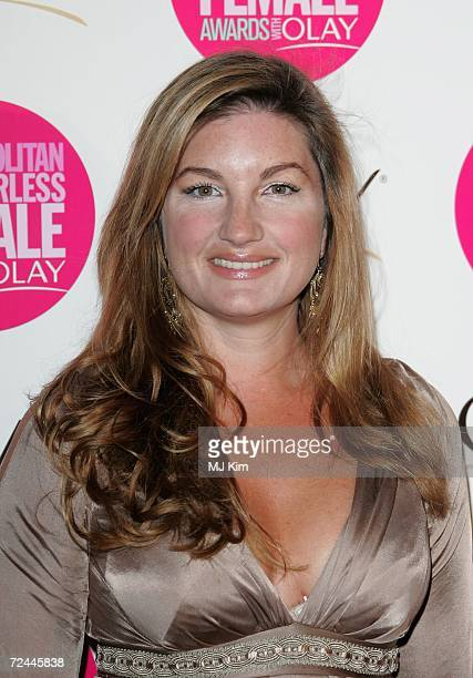 Karren Brady arrives at the Cosmopolitan Fun Fearless Female Awards with Olay held at the Bloomsbury Ballroom November 7 2006 in London England