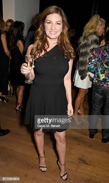Karren Brady attends the anniversary party for Kelly Hoppen MBE celebrating 40 years as an Interior Designer at Alva Studios on November 9 2016 in...