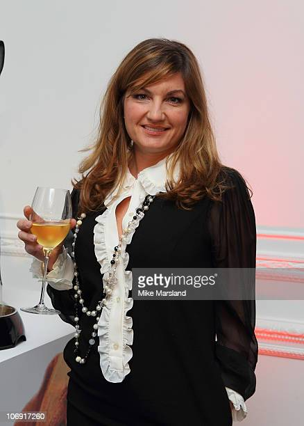 Karren Brady attends the 'How To Feed A Man' book launch party for at Il Bottaccio on November 16 2010 in London England