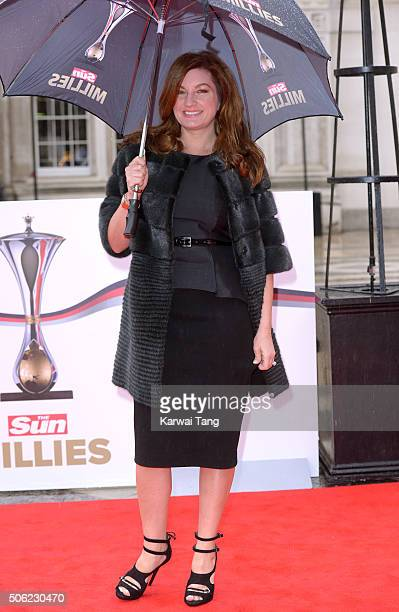 Karren Brady attends the Sun Military Awards at The Guildhall on January 22 2016 in London England