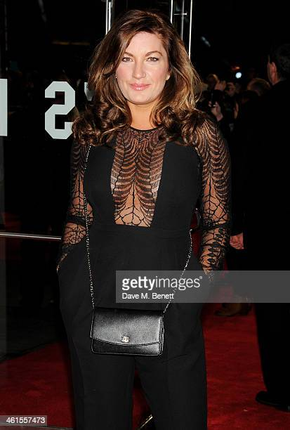 Karren Brady attends the UK Premiere of The Wolf Of Wall Street at Odeon Leicester Square on January 9 2014 in London England