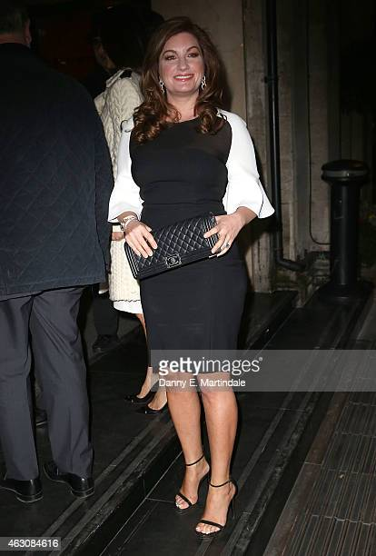 Karren Brady attends the White And Black Ball for the conservative party donors at The Grosvenor House Hotel on February 9 2015 in London England