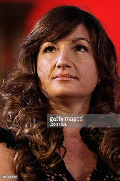 Karren Brady Managing Director of Birmingham FC and Director of Channel 4 and Mothercare plc addresses assembled delegates at the Leaders in London...
