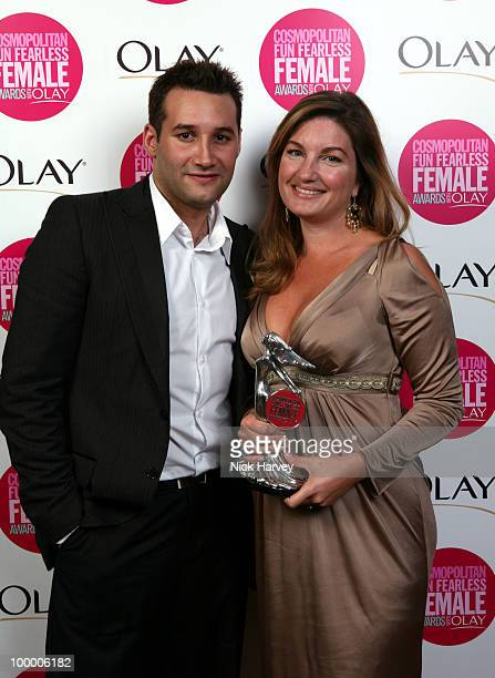 Karren Brady winner of the Woman Who Changed Your World Award presented by Dane Bowers