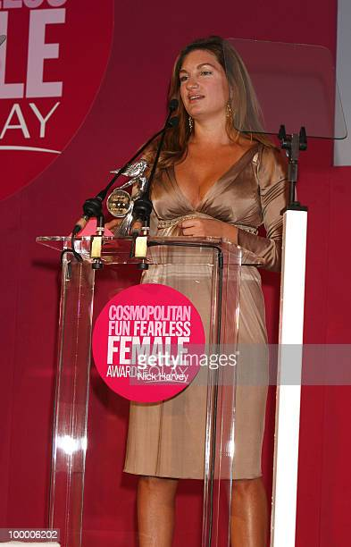 Karren Brady winner of the Woman Who Changed Your World Award