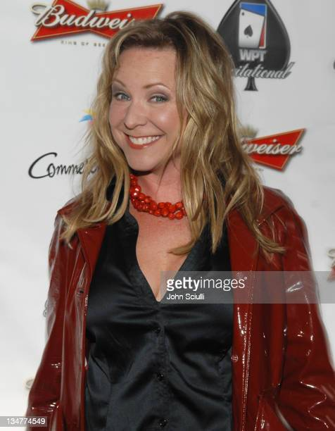Karri Turner during 2007 World Poker Tour Celebrity Invitational Red Carpet at Commerce Casino in Commerce California United States