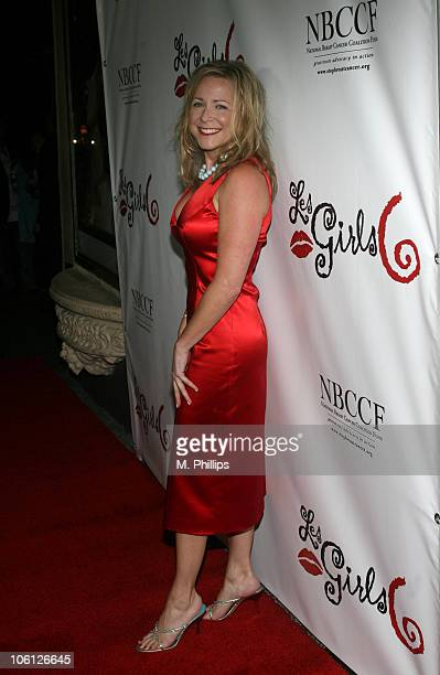 Karri Turner during Les Girls 6 Cabaret at The Avalon in Hollywood California United States