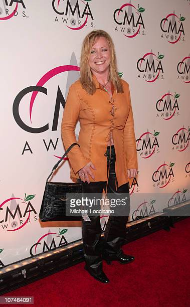 Karri Turner during The 39th Annual CMA Awards Arrivals at Madison Square Garden in New York City New York United States