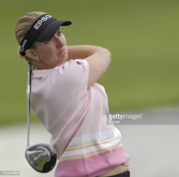 Karrie Webb during second round action at the Kraft Nabisco Championship at The Mission Hills Country Club in Rancho Mirage California on Friday...