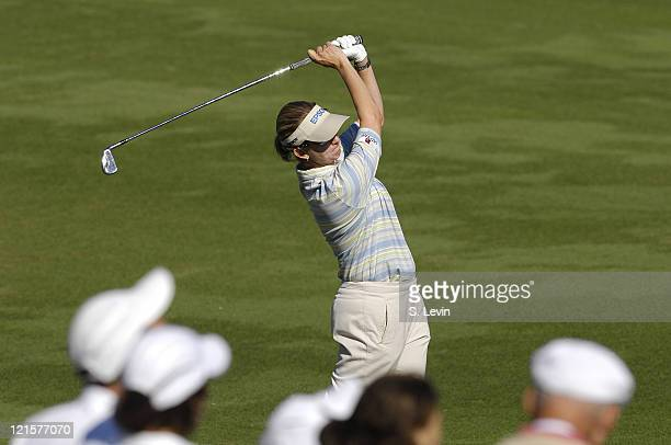 Karrie Webb during the fourth and final round of the ADT Championship at the Trump International Golf Club in West Palm Beach Florida on Sunday...