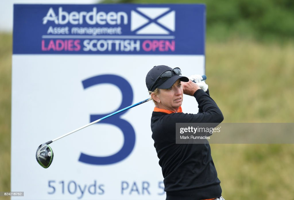 Aberdeen Asset Management Ladies Scottish Open - Day Three : News Photo