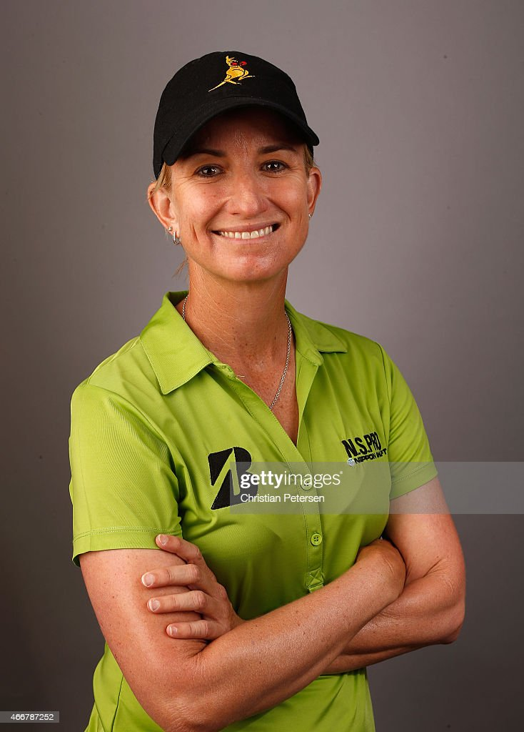 Karrie Webb of Australia poses for a portrait ahead of the LPGA Founders Cup at Wildfire Golf Club on March 18, 2015 in Phoenix, Arizona.