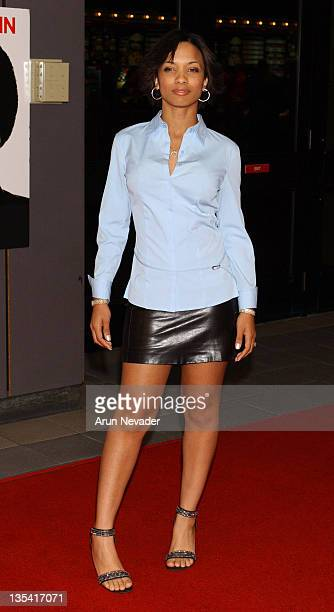 Karrine Steffans during Dysfunktional Family Premiere at AMC Theatres Hollywood Galaxy 6 in Hollywood California United States