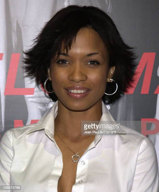 Karrine Steffans during Murder Models Madness BlowUp Premiere to Benefit the Elizabeth Glaser Pediatric AIDS Foundation at HQ Gallery in Hollywood...