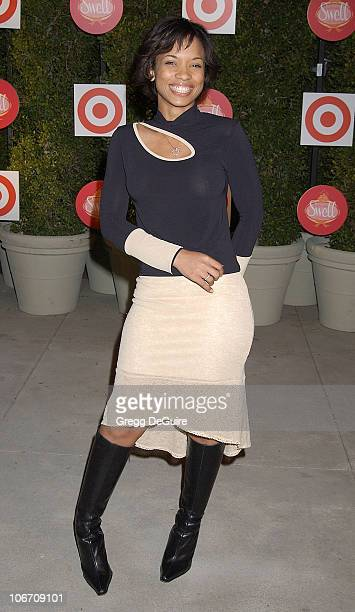 Karrine Steffans during Target Introduces Cynthia Rowley and Ilene Rosenzweig's New Home Collection Swell Arrivals at Private Residence in Beverly...