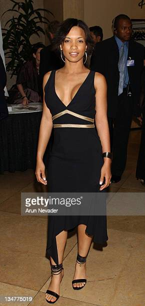 Karrine Steffans during The 9th Annual NAMIC Vision Awards at Beverly Hilton Hotel in Beverly Hills California United States