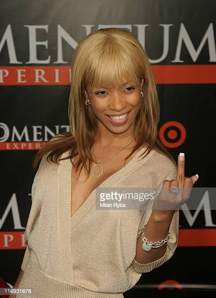 Karrine Steffans during The Seat Filler Los Angeles Premiere at El Capitan Theatre in Hollywood California United States